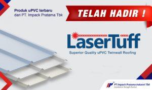lasertuff atap kanopi upvc terbaru lebih murah dari alderon