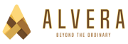 logo alvera lantai vinyl motif kayu dan marmer