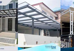 model kanopi untuk rumah minimalis solartuff twinlite alderon