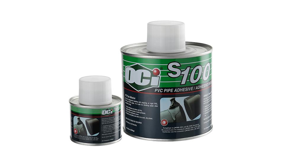 lem pipa terbaik kualitas internasional oci s100 pvc solvent cement