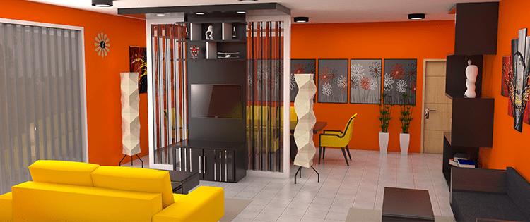 5 Ide Material Partisi Ruangan Untuk Rumah Minimalis Pt