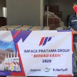 Impack Pratama Group Donated Food Packages for Covid-19 Affected People