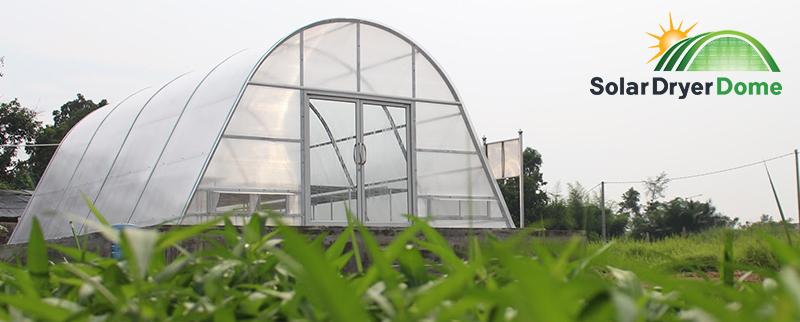 solar dryer dome pengeringan tenaga surya