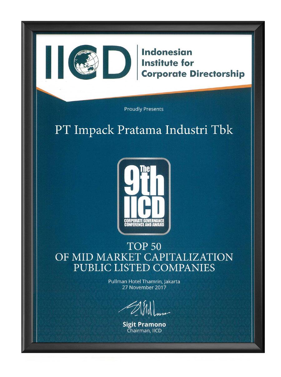 penghargaan awards impack impc iicd 2017