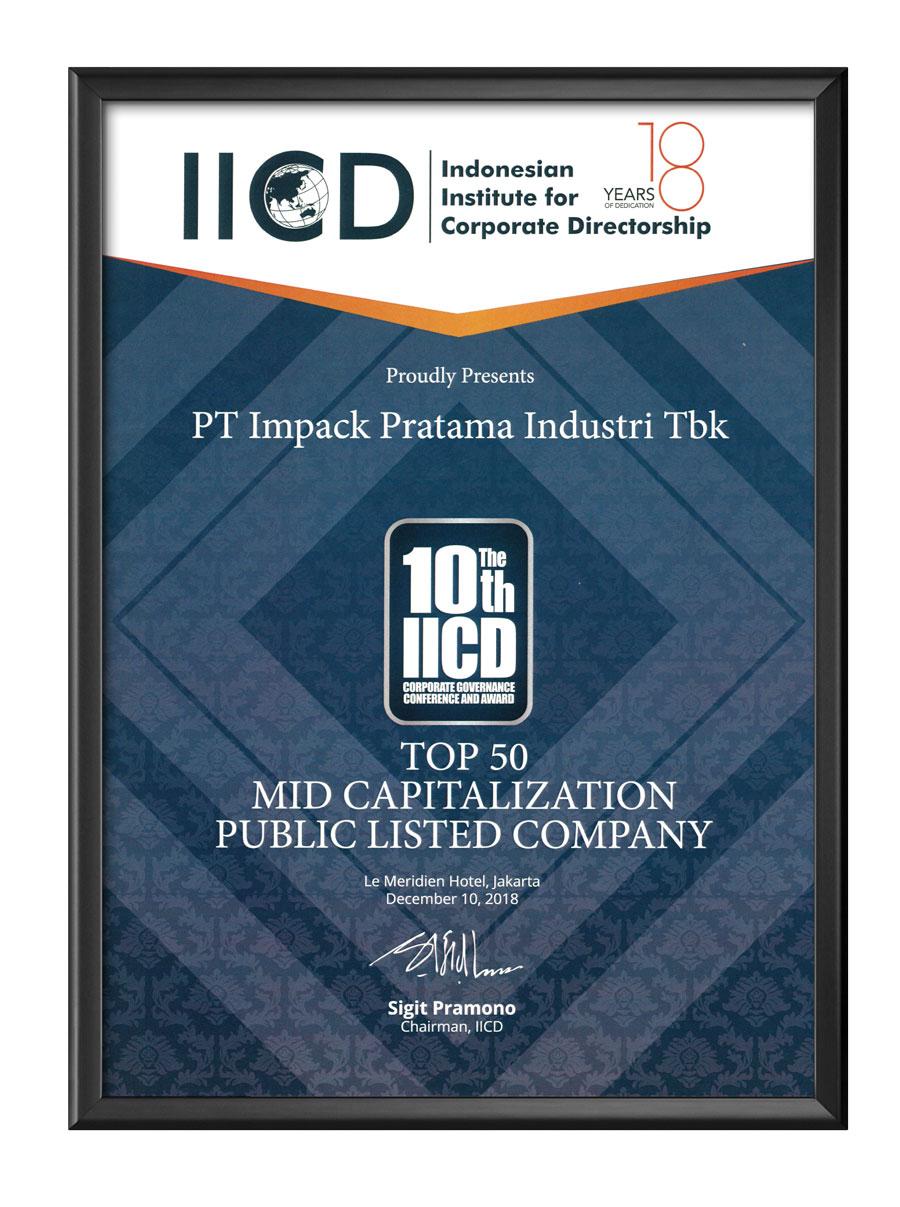 penghargaan awards impack impc iicd 2018