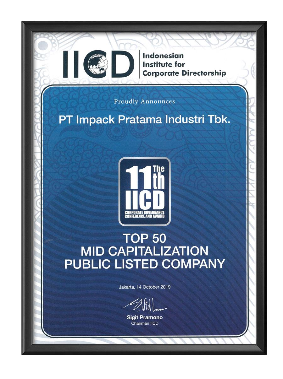 penghargaan awards impack impc iicd 2019