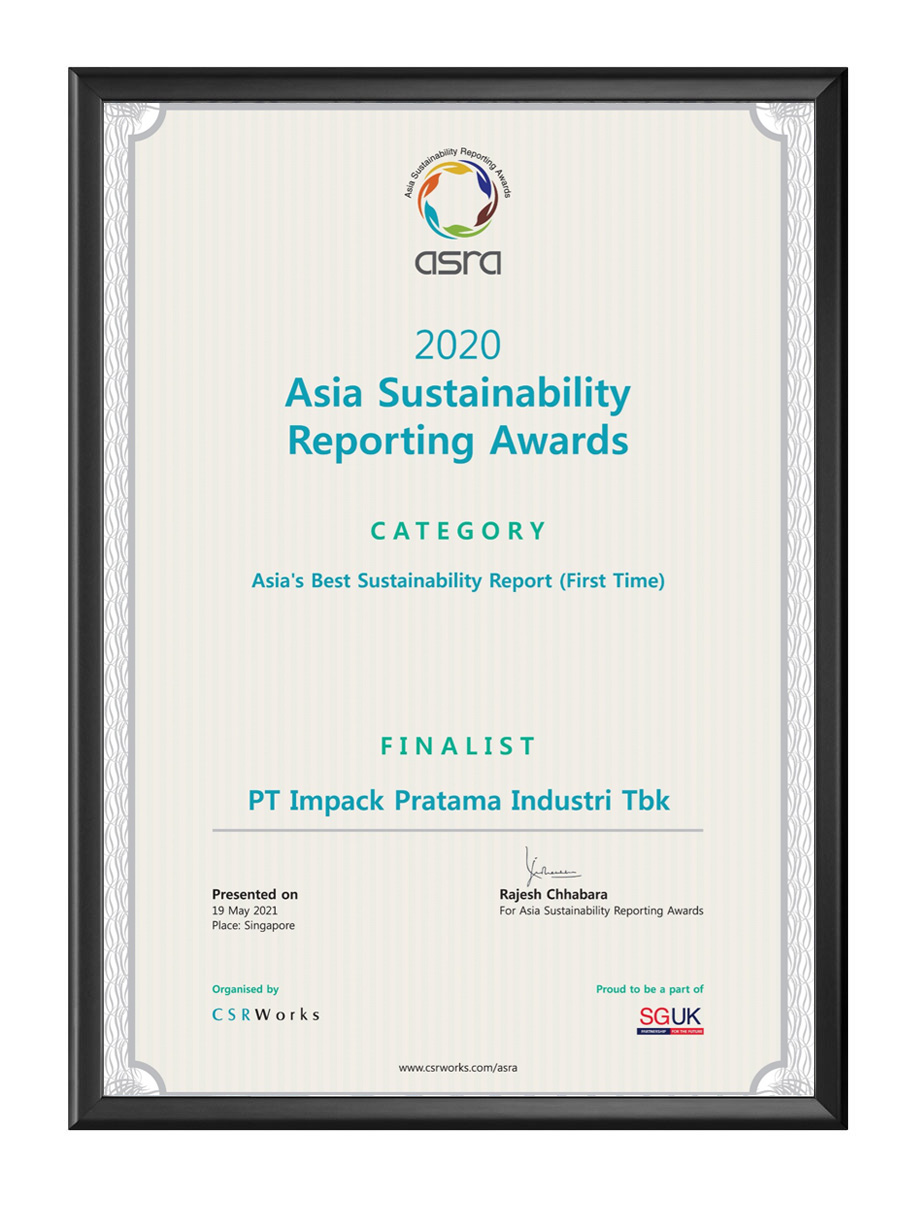 penghargaan award impack asra 2020