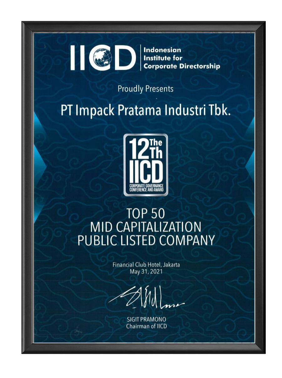 penghargaan award impc impack iicd 2021
