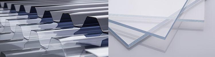 perbandingan bentuk solartuff bergelombang dan solarflat datar