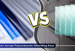 perbandingan polycarbonate vs kaca