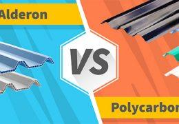 perbandingan spesifikasi alderon vs polycarbonate