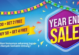 promo lasercool year end sale atap transparan murah