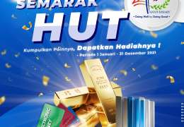 semarak hut 40 campaign
