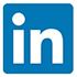 icon linkedin social media impack