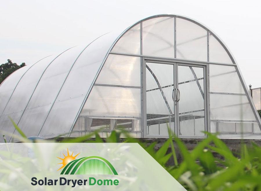 solar dryer dome teknologi pengeringan polycarbonate