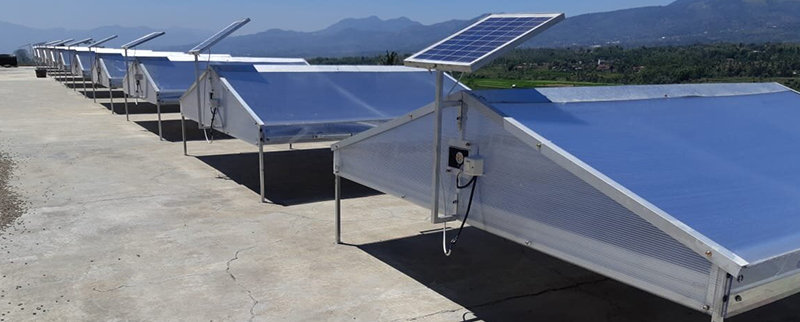 solar table dryer