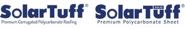 solartuff logo premium polycarbonate roofing