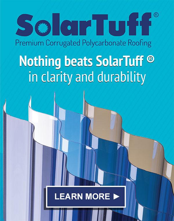 SolarTuff - Atap Polycarbonate Transparan Terbaik