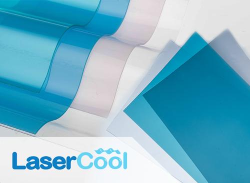 thumbnail lasercool atap pvc bening transparan