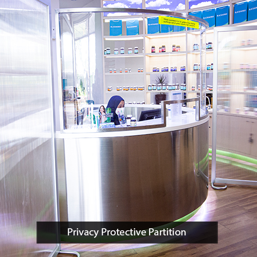 privacy transparent protective solution blackmores