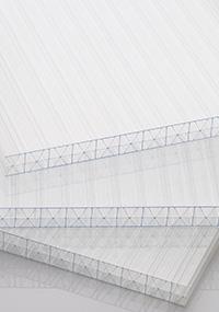 atap transparan twinlite x3 polycarbonate bening transparan berongga