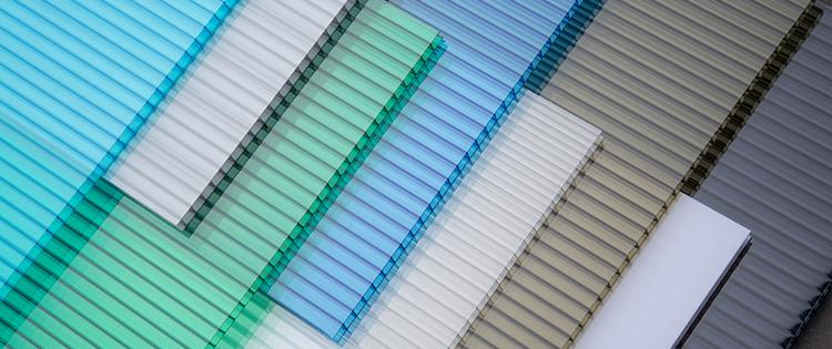 warna polycarbonate putih grey untuk atap solarlite twinlite
