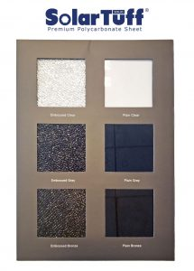warna polycarbonate solartuff solid solarflat