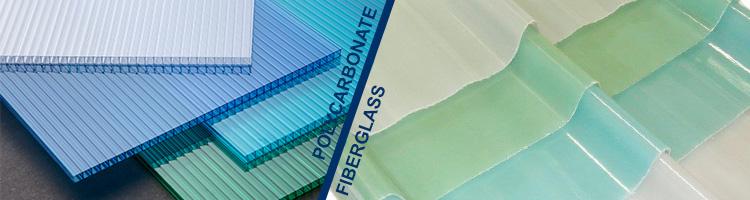 pilihan warna polycarbonate dan fiberglass